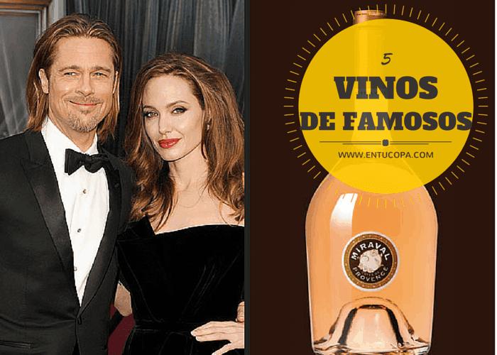 5 buenos vinos hechos por famosos