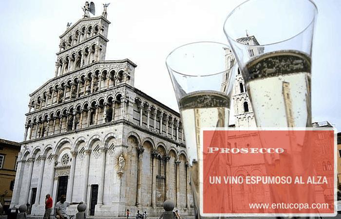 Prosecco, un vino espumoso al alza