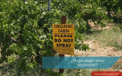 ¿Mejor elegir vinos orgánicos?