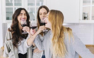 Salud: Los folatos y el vino en la mujer